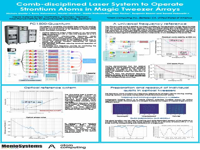Comb-disciplined Laser System to Operate Strontium Atoms in Magic Tweezer Arrays