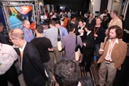 Crowd at Exhibit Hall