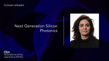 Plenary - Next Generation Silicon...