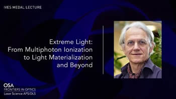 Plenary - Extreme Light...