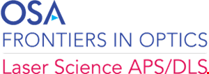 Frontiers in Optics / Laser Science APS/DLS